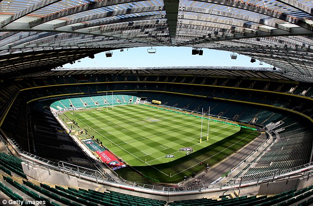 HQ: England's Twickenham Stadium in Surrey