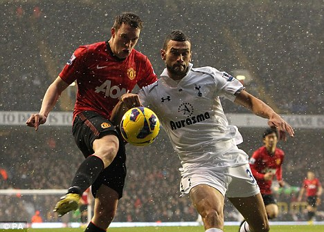 Core: Phil Jones says he is best at centre-back but will play where required
