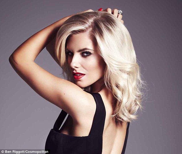 Single status: Mollie King has revealed that she is happy being on her own and is waiting for her fairy tale