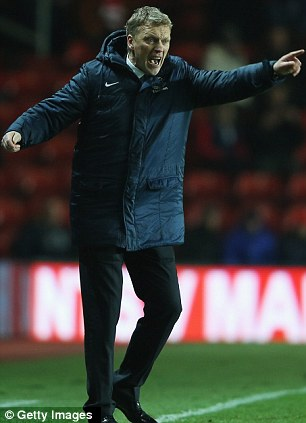 Out with the old: Rafa Benitez will not stay at Chelsea, with David Moyes he favourite to replace him