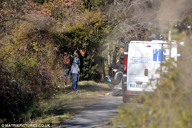 Quiet suburb: The unnamed British suspect is thought to have living in Nimes with his parents for several months
