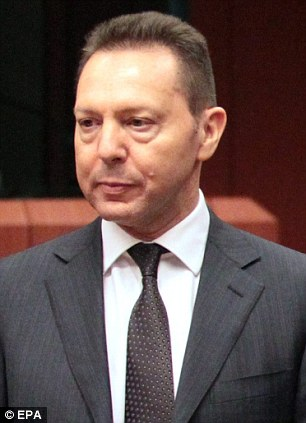 Confident: Greek finance minister Yannis Stournaras believes this will be the country's last year of recession