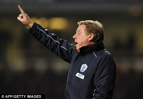 Odd: Harry Redknapp selected two goalkeepers on the bench