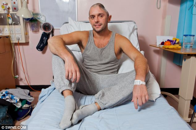 Recovery: Lee has now learned how to walk again and is starting to speak again despite the injury
