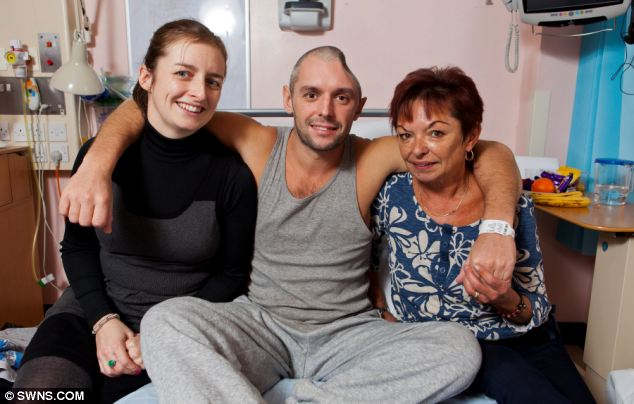Lee with his mother, Natalie Charie, 61, right, and sister, Kirsty Charie, 30, left. Lee's mother said the family believe they will never know how the incident happened