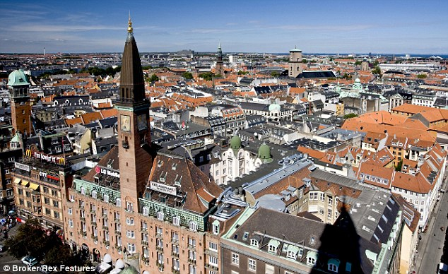 Copenhagen (population 1.2million) is the main city and operations centre for The Killing