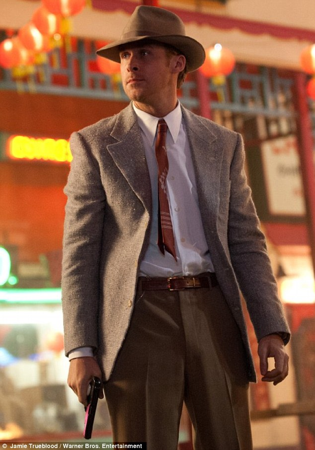 On the big screen: It was Ryan Gosling's role in Gangster Squad that got the actress' hear racing