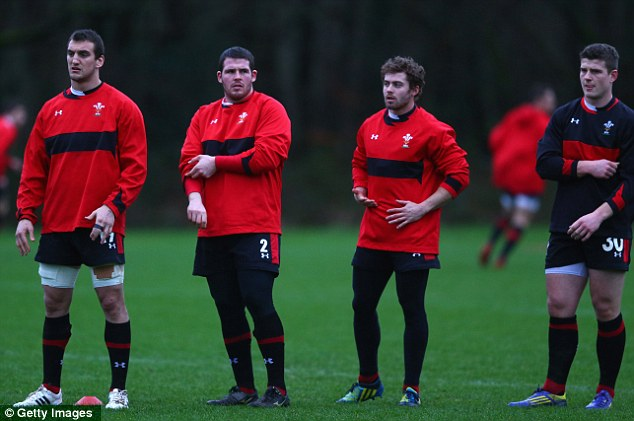 Final preparation: Wales will face Ireland at home as they begin the defence of their title