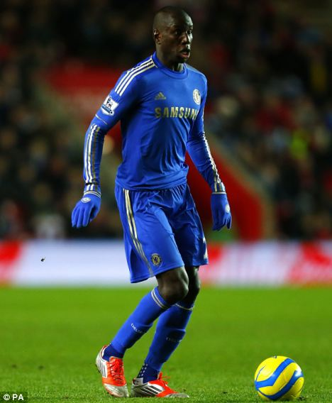 Hit-man: Ba (pictured) joined Chelsea earlier this month