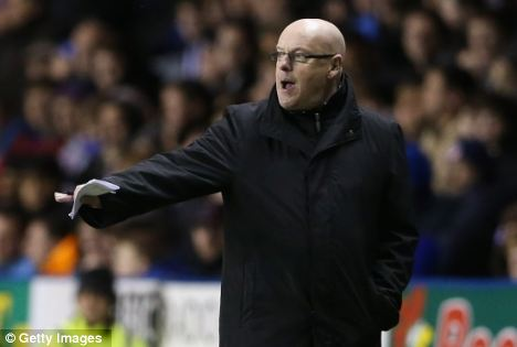 Super sub: Brian McDermott (pictured) has mostly used Le Fondre as a substitute this season