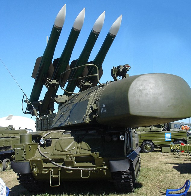 A Russian SA-17. It is described as a 'game-changer' that could shoot down Israel's air forces