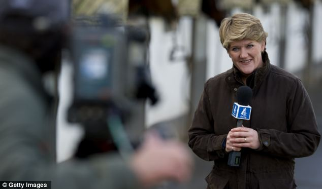 Balding presents Channel 4 Racing as well as working for the BBC and now BT