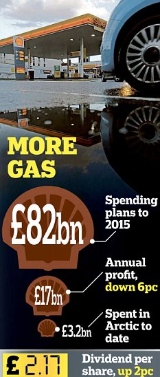 Prospects: Shell said investment would depend on whether shale gas reserves proved plentiful