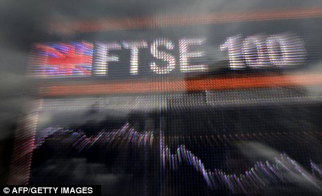 Cheer: Yesterday the FTSE 100 had its best January performance since 1989