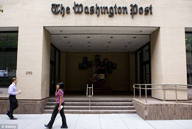 Under attack: The Washington Post spent most of 2012 trying to deal with Chinese hackers who infiltrated their computer network