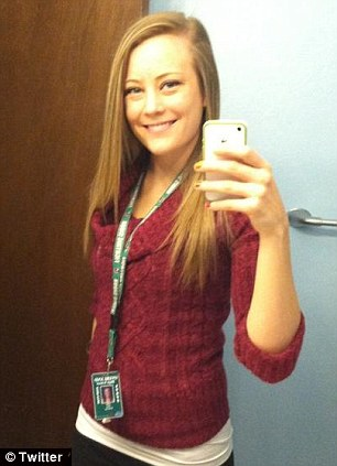 Teacher, 23, who 'tweeted nude photos of herself, called her students JAIL BAIT and discussed getting high' pulled from classes