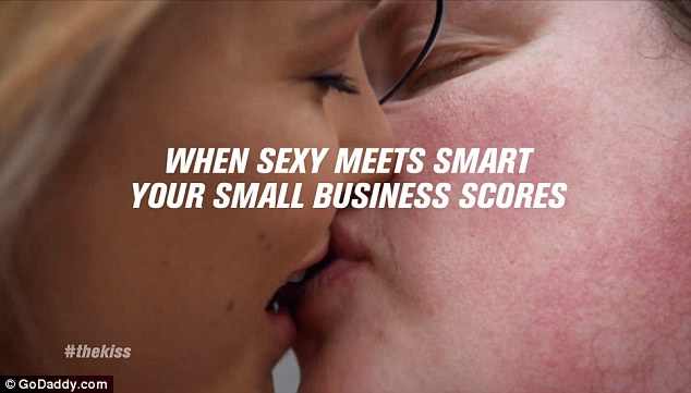 Sexy meeting smart? That is the thrust idea behind the advert though it remains to be seen if it pays off