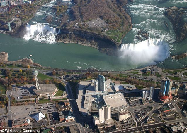 Arrests: The US border with Canada at Niagara Falls in New York State