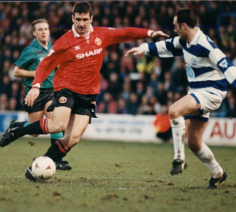 Legend: Like Thierry Henry, Eric Cantona (above) is one of the best players the League has seen