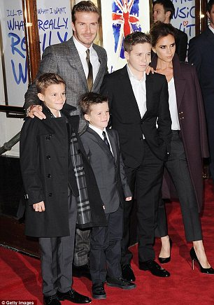 Staying put: David also revealed that his wife and four children would not be moving to France