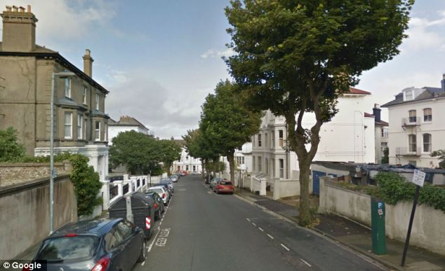 Mr Allen's body was discovered behind an armchair in Leopold Road, Brighton two years after he passed away