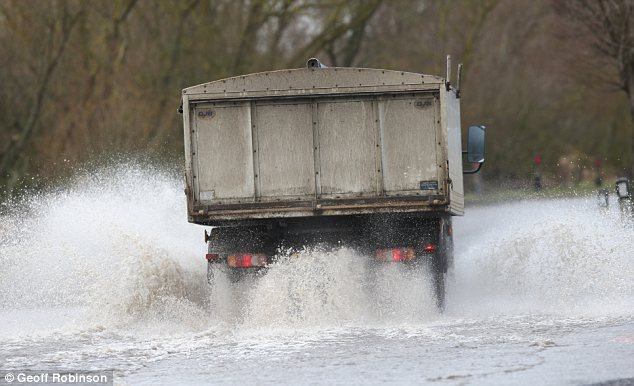 Flooding: The recent thaw and heavy rains have led to dangerous conditions in low-lying areas