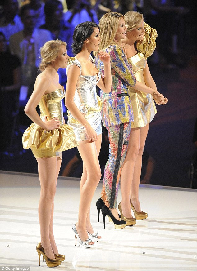 Big success: Heidi's show is one of the most popular of the Top Model spin-offs
