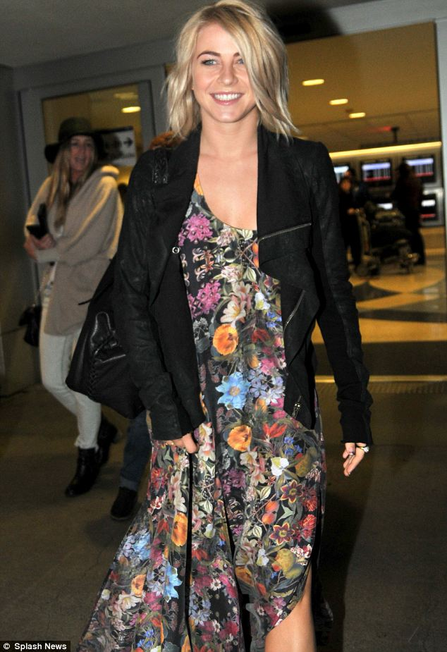 Promotion: The star has been doing various appearances for her latest film Safe Haven