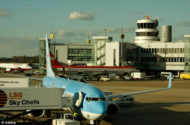 Customs officers at Duesseldorf Airport found the cheque worth £44.5million
