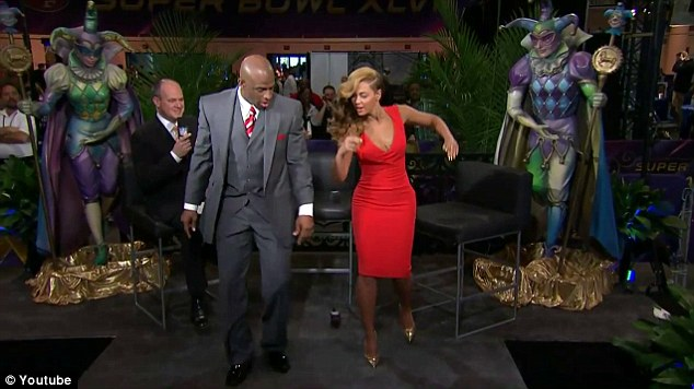 How I move: Beyonce gave Deion a quick dance lesson