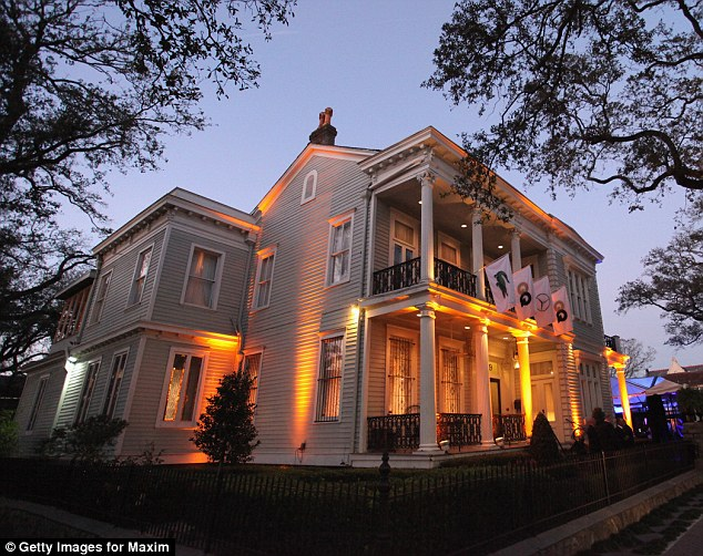 The venue: The Lacoste/GQ Super Bowl Party was at The Elms Mansion