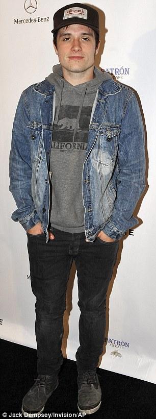 Casual vs. sharp: Actors Josh Hutcherson and Matt Bomer