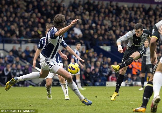 Gareth Bale fires home Tottenham's winning goal