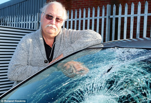 In shock: Jack, who has been a taxi driver on the Isle of Wight for 18 years, said he was in shock after the incident