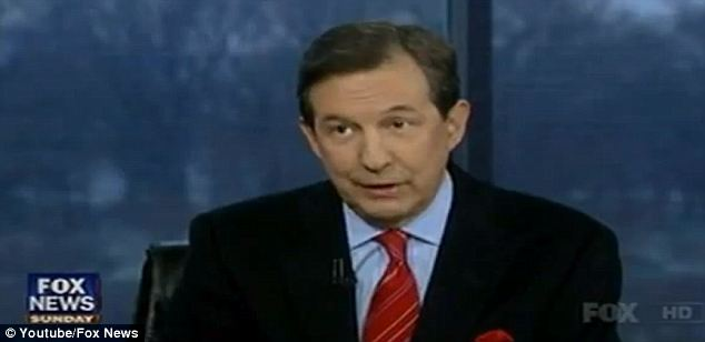 Calling him out: Chris Wallace said that LaPierre's line of thinking regarding the ad was 'ridiculous'