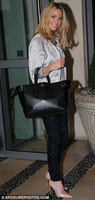 Stepping out in style: Sarah admitted she and her Girls Aloud bandmates are all a lot more 'diplomatic' following their recent reunion
