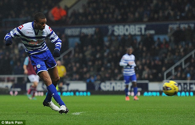 Off to a flyer: Remy scored on his debut for QPR against West Ham