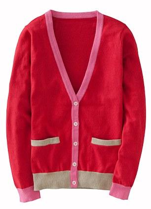 Cardigan, £59, Boden, boden.co.uk