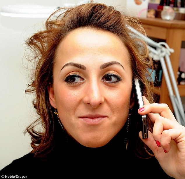New look: Natalie Cassidy has continued her makeover quest by getting her eyebrows tattooed on