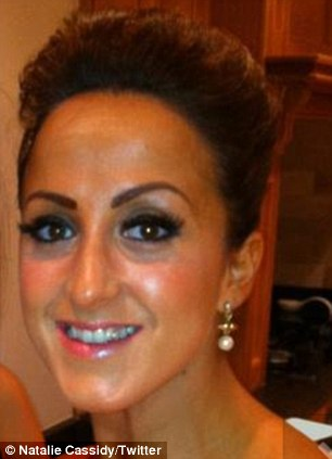 Transformation: The procedure changed Natalie's thin, over-plucked brows into dark, thick arches