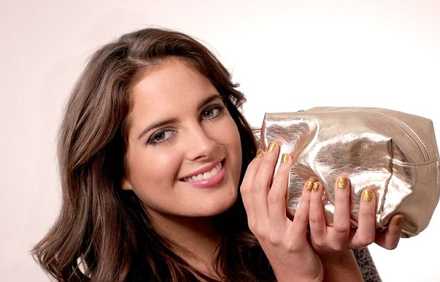Sharing all: While she usually keeps it a closely guarded secret, Binky Felstead is sharing exactly what lies within her make-up bag