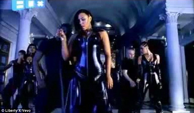 Remember this? Michelle originally showcased her curves during Liberty X's Just A Little music video in 2002