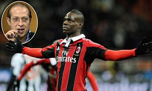 article 2274092 175EE297000005DC 301 308x185 Disgrace! Berlusconis brother calls Mario Balotelli a little nigger at a rally