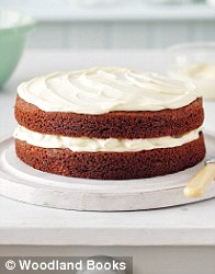 double divine chocolate cake