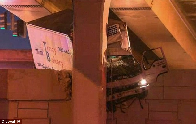 Fatal: The passenger became pinned inside the truck and could not be saved by rescuers