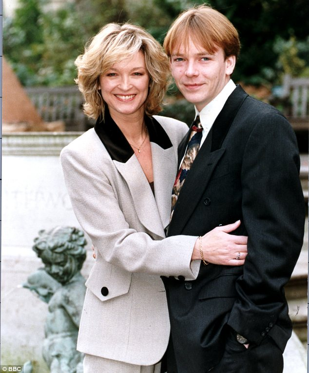 East end girl: Gillian found fame playing Kathy Beale on the BBC soap