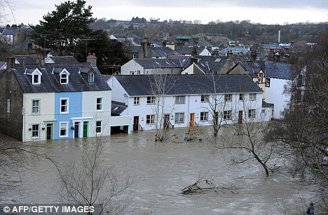 Damage: Insurers argue that homes in flood-prone areas need better protection