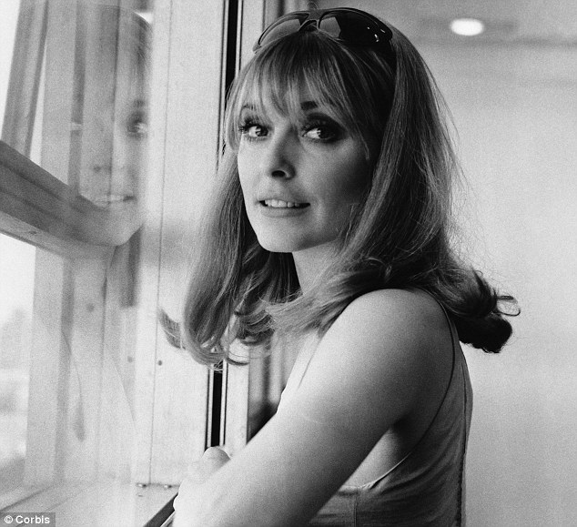 Murdered: Actress Sharon Tate was eight and a half months pregnant when she was killed by Manson's followers on his orders