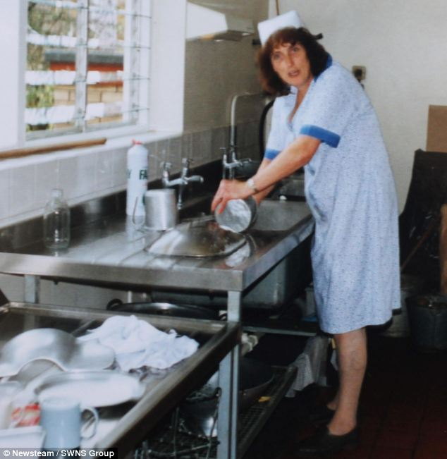 Julie Barrick, pictured in 1988 reduced her working hours in 1991 but shows no signs of letting up