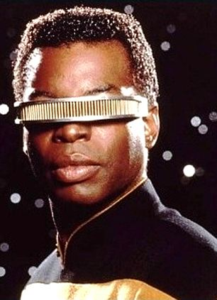 Star Trek's Lt Geordi La Forge: A similar band has been developed to treat migraines